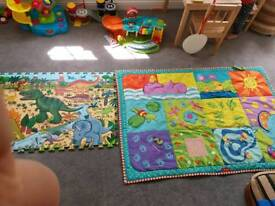 Baby play mat and floor puzzle