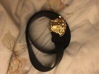 Versace Belt Gold Medusa Head (Brand New)
