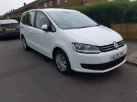 UBER ready RENT 2 BUY PCO 7 SEATS VW SHARAN 2.0 diesel AUTO from £160/week.