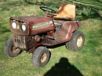 Mountfield Ride on Mower (SPARES) good gear box engine works starter not working