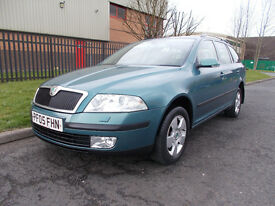 SKODA OCTAVIA 1.9 TDI 4X4 ESTATE FULL SKODA SERVICE HISTORY 11 STAMPS *open 7 days by appointment *