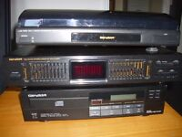 Hi Fi -Record Deck - Cd Deck- Dual 10 Band Graphic Equalizer - For Sale -record player