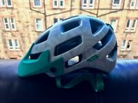 Brand new mountain bike helmet