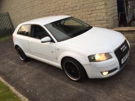 Audi A3 2.0 tdi 6 speed s line full leather bbs alloys 10 month mot ring for more details