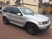 BMW X5 silver 3.0 auto silver sport Vivaro trafic swap
