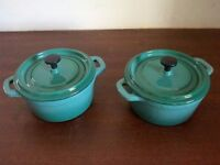 New Cast Iron Mini Casserole Dish Enamel Coated, Top Quality! Induction, Electric or Gas