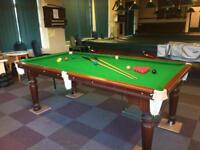 7x4 snooker table