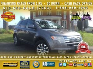 2010 Ford Edge Limited-$67/Wk-RearSens-AWD-Tint-Bluetooth-USB/AU