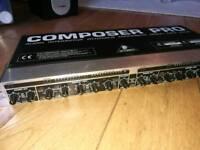 Behringer composer pro mdx 2200 compressor/limiter/gate dual channel