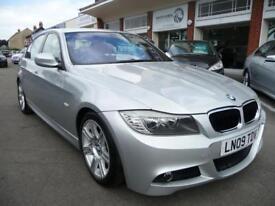 BMW 3 SERIES 2.0 320I M SPORT 4d 168 BHP (silver) 2009