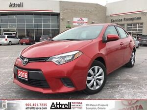 2016 Toyota Corolla LE Heated Seats, B. Cam, Bluetooth, ABS, VSC