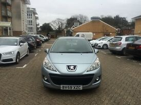 PEUGEOT 207 1.4 PETROL 38000 MILES ONLY 1 YEAR MOT IMMACULATE CONDITION