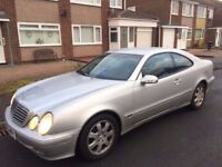 Mercedes CLK 230K Avangarde for swap.
