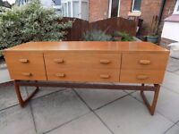 House Clearance: G Plan, Sideboard, Tallboy Chest, Singer Sewing Machine, Vintage + Other Items