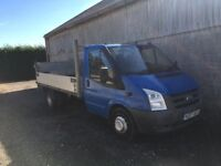 2007 ford transit dropside lorry
