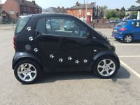 smart fortwo automatic with 12 months mot and full service history
