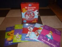 5 Disney Story Book Collection with audio CD
