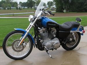2004 harley-davidson XL883C Custom   Stage 1 Exhaust and Progres London Ontario image 3