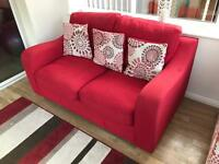 Sofa Bed - red couch
