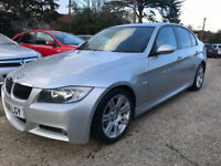 BMW 330D Sport 2008 5dr in Silver
