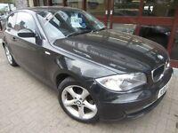 BMW 1 SERIES 2.0 118i ES 3dr (black) 2007