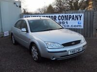 FORD MONDEO GHIA 2.0 LTR PETROL MOT JULY 2018 CHEAP TRADE IN TO CLEAR