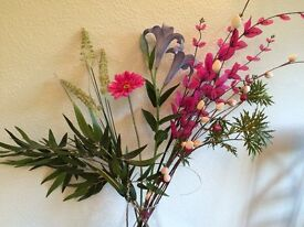 Amazing, beautiful artificial flowers plants very realistic, high quality, washable, various colours