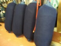 4 large boat yacht fenders