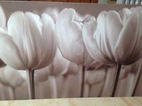 IKEA neutral tulip canvas shades of cream and stone