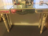 Febland dressing table/ console table mirrored beautifully designed