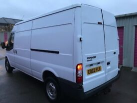 FORD TRANSIT T350 LWB SEMI-HI TOP 62REG FOR SALE