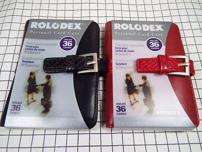 Rolodex Business Card Book - 36 Cards
