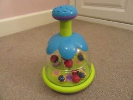 Baby Toy Push Spinning Top