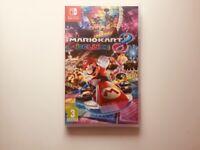 Mario Kart 8 Deluxe game for Nintendo Switch