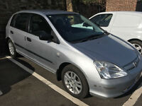 Honda Civic Inspire S 1.4 53-plate 12mths Mot! 121,000 Miles! Very Good Runner! Full elecs! Px to go