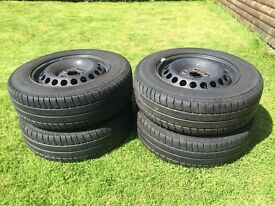 VW Transporter wheels and tyres