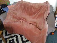 Vintage Cotton Velvet Curtain (single) -VERY GOOD CONDITIONS