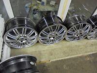 17inch x3 alessio chrome alloy wheel new bmw 5x120 fitment spare