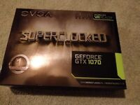 EVGA GTX 1070 Superclocked Practically New, Barely Used
