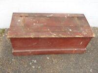 Vintage tool box /chest