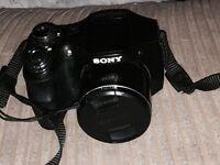 Sony Cybershot 20.1 Megapixel digital camera with optical steady shot 26x optical zoom