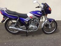 UN REGISTERED JINLUN JL125 CRS NO MILES MOTD RUNNING WELL WAS £1199 NOW £750