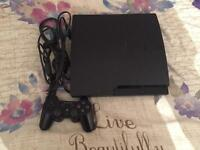 Sony PlayStation 3 With 8 games and all cables.