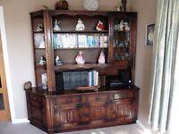Oak Dresser/Wall Unit 1950x1950x540