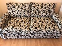 2 seater designer sofa from Aura