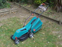 Bosch Rotak 34 R Electric Rotary Lawnmower, Cutting Width 34 cm (Not Flymo Qualcast) FREE DELIVERY