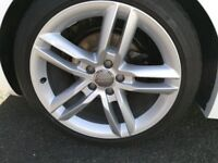 Alloy Wheels Repaired and Painted