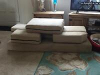 Campervan cushions