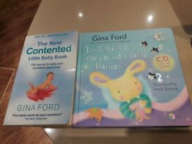 Gina Ford book/lullaby book with cd