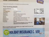 Gatwick Sofitel meet & greet parking Mon Oct 30th until Wed 15th Nov 2017 inc 1 night stay at hotel